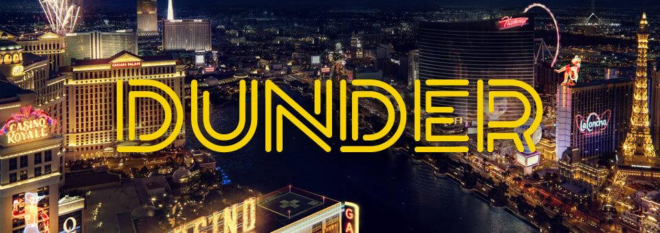 Dunder Casino hemsida