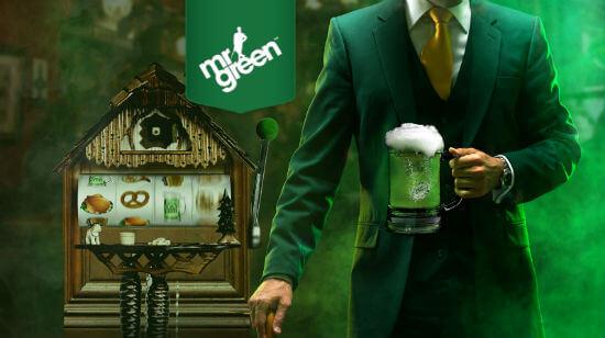 Mr Green startsida