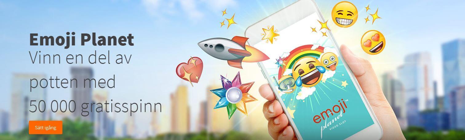betsson emoji planet kampanj